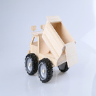 2014 hot sale kid play assenbly toys wooden DIY assembly educational truck