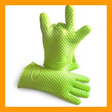 Amazing Heat Resistant Silicone Kitchen BBQ Gloves