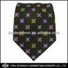 floral brown cool neck ties