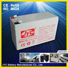 china valve regulated lead acid battery 12v 9ah ups battery