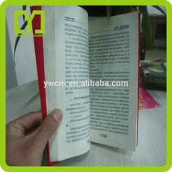 Yiwu China cheap plastic opp book cover