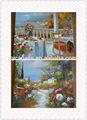 china 2014 caliente venta de pinturas al óleo lienzo