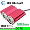 Mountain Bike Accessories 2T6-01 3000LM Cree Head Flashlight