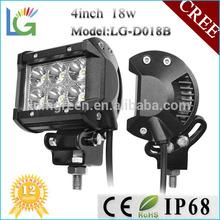 Mini 4 inch motorcycle led driving lights,12v led cree driving lights for atv led light cree