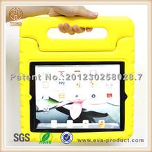 Full protection portable Eco-friendly EVA foam for yellow iPad case