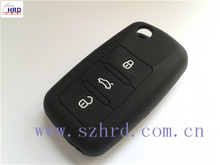 silicon key cover vw 3 buttons all kinds of colors