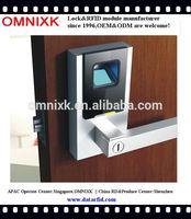 Hotel digital security fingerprint handle door lock OMNIXK D-7010