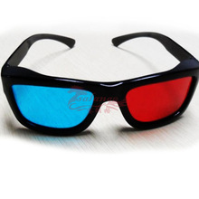 Hot Selling Very Fashion Blue Red 3D Movie Glass for 3D Projector by Salange