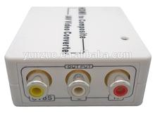 Mini HDMI 2 AV 1080P HDMI TO AV Converter manufacturer supply