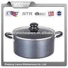 Dutch Oven, 8.5qt nonstick carbon steel black cookware