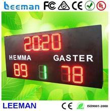 large display clock countdown wheel weight die casting machine led video curtain rental display