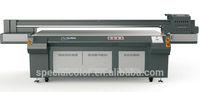 environment friendly UV inks automatic plate type digital inkjet printer