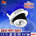 Hot!! Uso loja redonda diodo emissor de luz de uso sharp chip levou downlight 30w luzes led para o vestuário