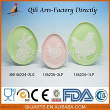 2014 Wholesale Good Quality Popular Design ceramic easter decorations