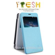 For Nubia Z7 Mini NILLKIN Fresh Mobile Flip Leather Cover Case