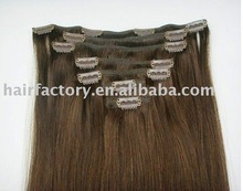 "26"" EasiXtend Elite Remy Human Hair Extension Clips in 7pcs"