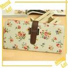 wallet leather case for htc one mini flower girls wallet