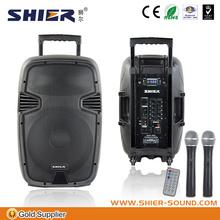 2014 hot sale portable wireless audio mixer