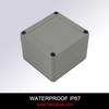 Wall Mounting Waterproof Aluminum Enclosure