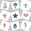 1000+ styles MOQ only 20pcs Heart Shape NANA Charm For Floating Lockets