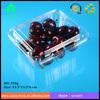 Factory plastic strawberry punnet/ PET plastic disposable cherries packaging box