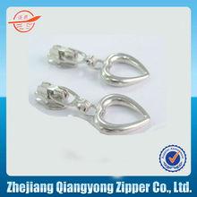 5# non lock nylon heart zipper pull