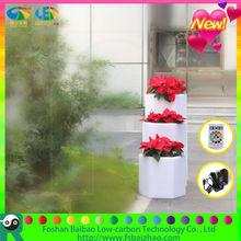 led planter pot led cube colorful cube shelf
