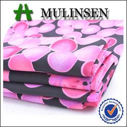 Mulinsen textile for woman flower printed koshibo fabric