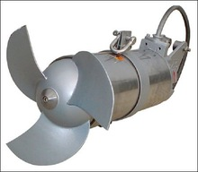 submersible mixer with direct connection type carbon steel