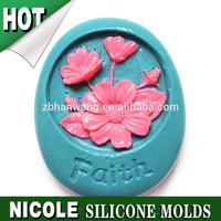 R1288 Nicole Faith silicone soap molds