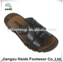 New designs men pu leather arab sandal