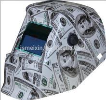 Graphic u.s dollar german welding helmet for sale with CE