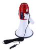 USB professional megaphone with 6m cable+12v lithium battery+car cigarette plug