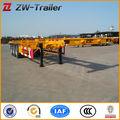 2-axle 40ft esqueleto recipiente caminhão Semi reboque / Container Chassis Semi reboques