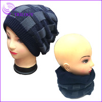 2014 new design boy multi-use winter knitted wool hat