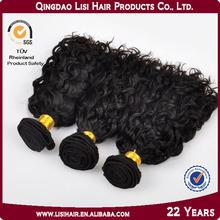 Alibba Express Gold Supplier Qingdao Lisi Virgin Indian Deep Curly Hair