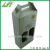 China wholesale custom cardboard wine carrier box
