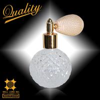 Graceful women style Superb 50ml hand made perfume glass spray