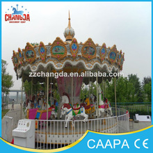 Playground amusement rides equipment electric carousel,merry go round parts