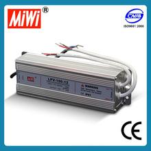 LPV-100 12v 24v Waterproof LED Series Switching Power Supply