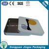 Custom printed rectangular business card tin case