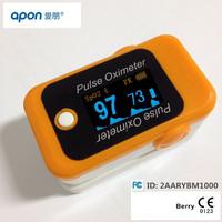BM1000B Bluetooth fingertip pulse oximetry oxygen saturation meter