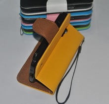 For Samsung Galaxy S5 Mini Cross Grain PU Leather Wallet Pouch Case