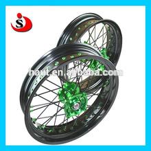 Kawasaki KX 125/250/450 Dirt Bike Motorcyce CNC Hub Alloy Wheels