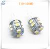 Energy saving 9 led light pure white 1156 ba15s 5008 indicator bulb tail backup turn signal led lamp 12v dc