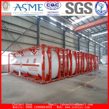 Order production Liquefied petroleum gas tank container