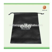 Nonwoven shopping tote bag with nylon drawstring/drawstring tote bag
