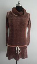 Fashion women's turtleneck sweater tight / dress