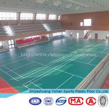 3.5mm/4.5mm badminton court flooring vinyl coated foam