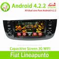 Araç radyo fiat punto android 4.2 capactive ekran, gps, bt, ridio, fuction